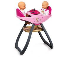 Smoby 7600220315 Baby Nurse Seggiolone Gemelli