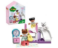 LEGO Duplo Town Camera da Letto, Set di costruzioni ricco di dettagli per bambini +2 anni, puoi Usare la Bella Casetta come Ambientazione di Mille Storie, 10926
