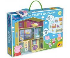 Lisciani Giochi - 77953 Gioco per Bambini Peppa Pig, Casetta Educativa