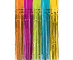 Amscan International 242001 – 90 91 cm x 2.43 m multicolore tenda della porta
