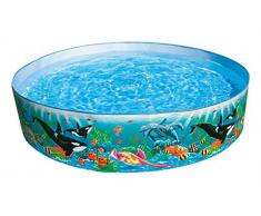 Intex 58461 - Piscina Rigida Oceano, 183 x 38 cm, Multicolore