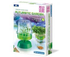 Science & Play - Crea il tuo giardino botanico futuristico, set con gel per veder germogliare il seme [Lingua inglese]