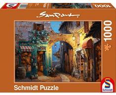 Schmidt - Sam Park Puzzle, Tematica: Vicolo sul Lago di Como, 1000 Pezzi