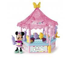 IMC Toys 181984MI3 - Playset Minnie Bancarella dei Dolci con Bambola