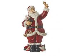 Edelman Natale-L18,5Xw13Xh30,5Cm Babbo Natale, Multicolore, 8718861435900