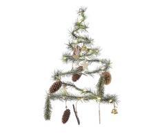 Kaemingk Albero A Spirale A Batteria con LED Bianco Caldo Natale Luci, Multicolore, 8719152234783
