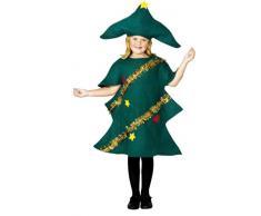 Smiffys Albero di Natale Costume, Bambini