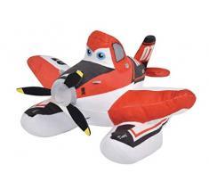 Grandi Giochi GG01090 - Peluche Planes2 Dusty Fire & Rescue,25 cm