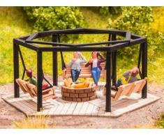 Noch 14369 - Barbecue con altalene, colorato