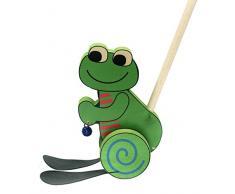 Hess 14438 - Bambino Giocattolo in Legno Riding Frog
