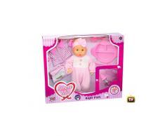Grandi Giochi GG71016 - Amore Mio Bambola Baby Pipì, 36 cm