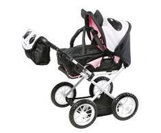 "Knorr Toys KNORR63101 ""Combi Ruby"" Splash Dolls, carrozzina/passeggino rosa"
