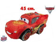Grandi Giochi- Peluche Cars 3 Saetta McQueen, 45 cm, GG01258