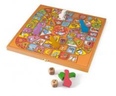 Gamma SMIR - - Jeujura 11869 - gioco da tavolo - scatola di legno Goose piccante
