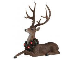 Edelman Cervo Natale Luci E Decorazioni Luminose, Multicolore, 8718861657098
