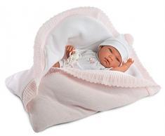 Llorens 73852 Newborn Nica Bambola, 40 cm