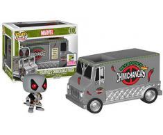 FunKo Pop Vinyl Marvel Comics Vehicle with Figure 10 Deadpools Chimichanga Truck Statua Collezionabile - Summer Convention Exclusive 2015, 5695