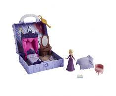 Disney Frozen 2 Pop Adventures - Camera da Letto Pop-Up di Elsa, con Bambola di Elsa Inclusa e Accessori, Ispirata al Film Frozen 2