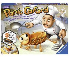 Ravensburger 4005556214433 - Gioco da ragazzo, scarafaggi, dadi, cucina, forchetta, cucchiaio, coltelli, trappole, esesbug, robot da cucina