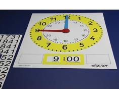 Wissner wissner090110.000 Orologio Lavagna Magnetica (36 x 29 cm)