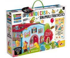 Lisciani Giochi- Giocare Educare Casetta Mille attività Gioco per Bambini, 76819