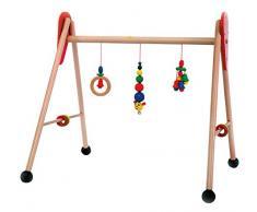 Hess 13321 - Bambino Giocattolo in Legno, attività Baby Gym, Caterpillar