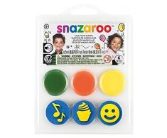 Snazaroo - Mini Kit Timbri - Compleanno