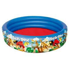Bestway 96108 - Angry Birds Piscina 3 Anelli