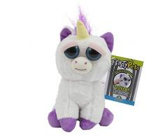 Giochi Preziosi Feisty Pets Peluche Unicorno, 25 cm