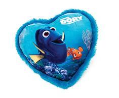 Disney Alla ricerca di Dory Cuscino a cuore in peluche, 33 cm