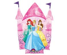Amscan International 8.619.241,1 cm Disney Princess mini Shape Palloncino foil
