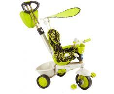 Vital Innovations - Passeggino a triciclo per bambini Smart Trike Dream Touch - colore: Verde/Nero