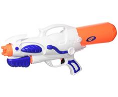 Happy People 17090 - Pistola ad Acqua con Funzione Pompa, Getto Circa 6 m