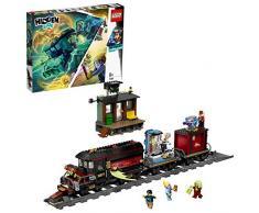 LEGO - Hidden Side Espresso Fantasma Set di Costruzione, Set per la Realtà Aumentata per iPhone/Android, 70424