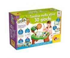 Lisciani Giochi - 77458 Gioco per Bambini Carotina Tavolino Molto Attivo, 30 Giochi, Edizione 2019
