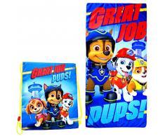 Kids Licensing – Set Sacchetto di Piscina e Asciugamano di Bagno, pw16246
