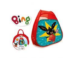ODS ODS-48405 Bing Tenda Pop Up da 90x90x80 cm, Colore Rosso, Blu, 48405