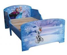 Fun House / Jemini 712356 - Letto con doghe, motivo: Frozen, modello piccolo, 140 x 70 cm