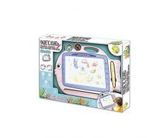 cpa toy group trading s.l.- Lavagna Magnetica 2 in 1, Colore: Rosa (CPAToy Group, S.L. 72362897A)