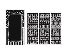 Amscan 241137 buon compleanno personalizzabile porta kit decorazione
