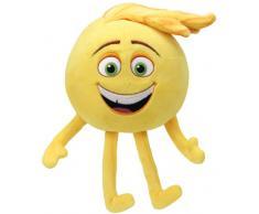 Ty 42296 Emojis, Gen, Peluche, 15 cm, Colore Giallo