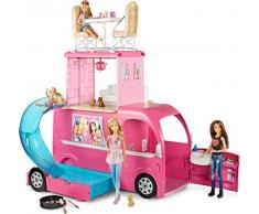 Barbie- Camper con Dettagli Realistici, CJT42