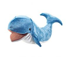 Folkmanis - Marionetta Peluche a Forma di Balena