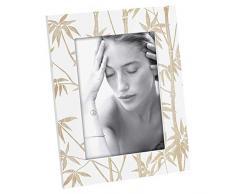 Mascagni Casa Cornice Portafoto Verticale Formato 13X18 con Decorazioni Palme, Multicolore, 8003426045787