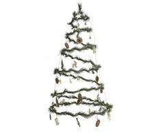 Kaemingk Albero A Spirale con LED Bianco Caldo A Batteria Natale Luci, Multicolore, 8719152234776