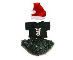 Costruisci il tuo orsi armadio da pollici vestiti adatti a costruire orso Natale outfit