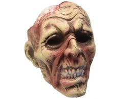 Widmann 04876 - Decorazione per Feste Halloween Testa Zombie con Luce Cambiacolore