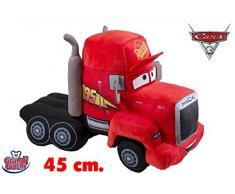 Grandi Giochi Peluche Cars 3 Mack, 45 cm, GG01266
