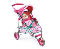 Bayer Chic 2000 613 79 - bambole e accessori per bambini - passeggino da jogging Lola, Capitano Sharky