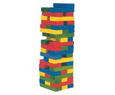Legespiel torretta del giocattolo Tower Blocks legno legno tinto Wackel Kinderland